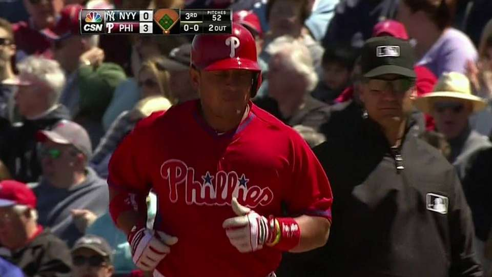 Byrd scores on double play
