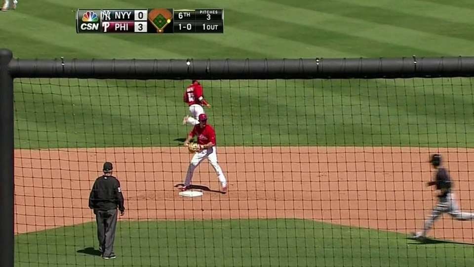Galvis and Utley turn two