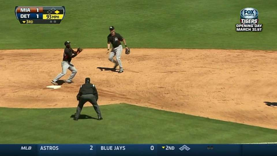 Turner induces double play