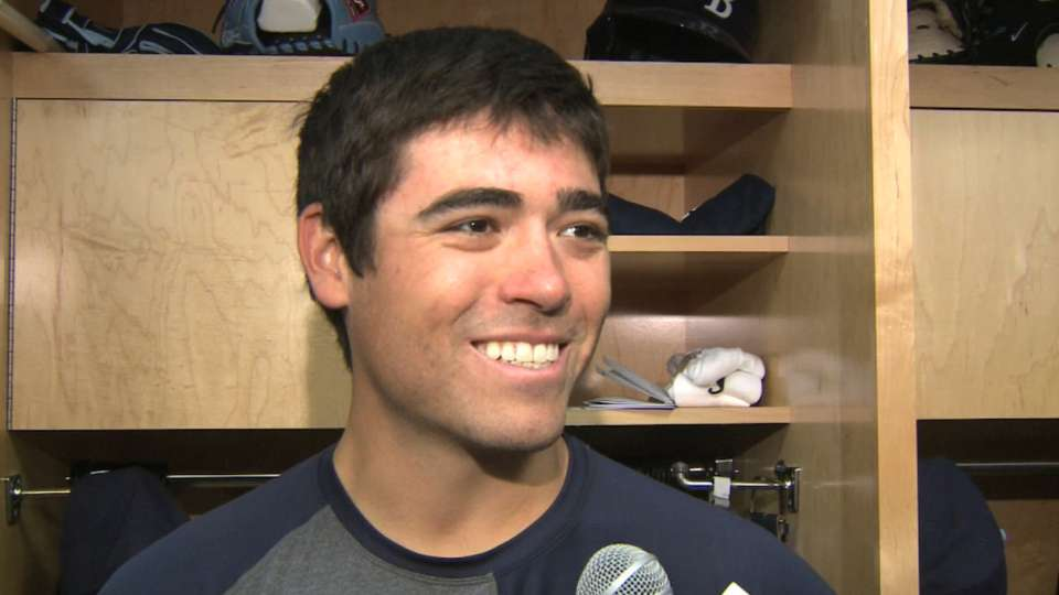 Moore on spring win over Pirates