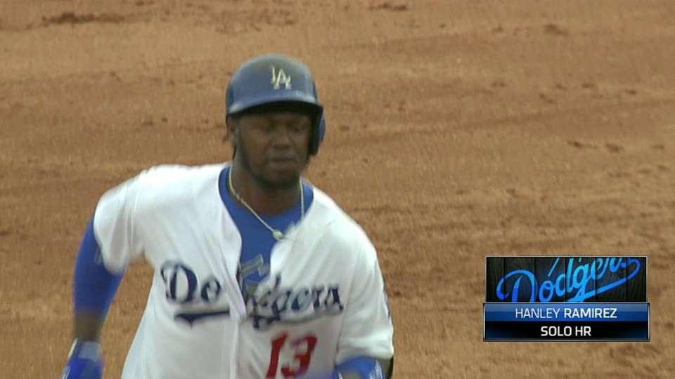 Hanley's monster home run