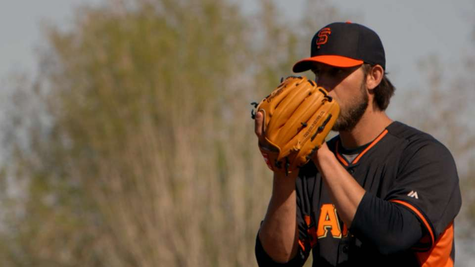 Bumgarner on staying competitive