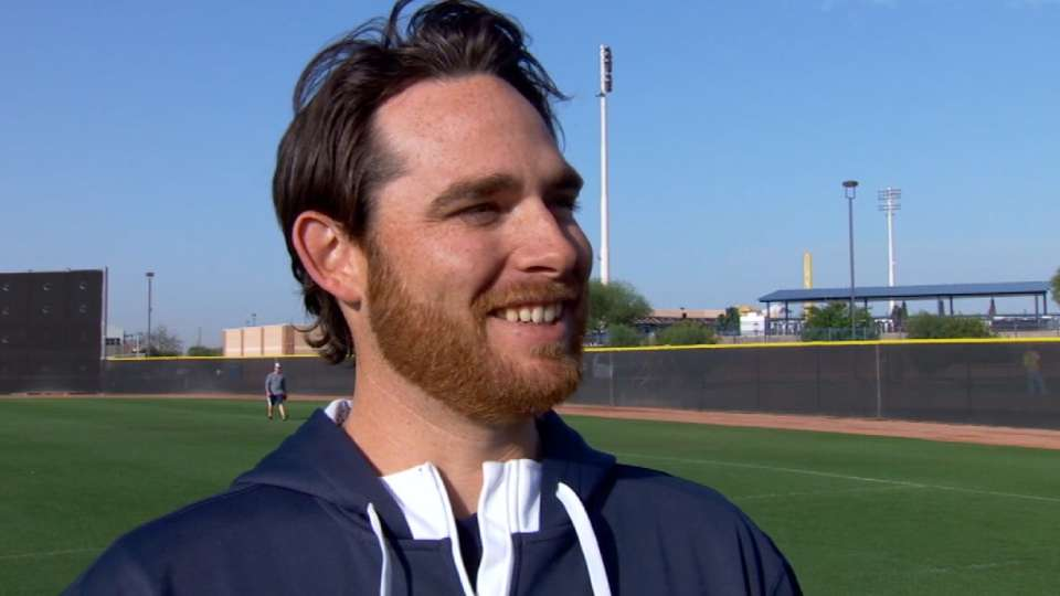Kennedy talks from Padres camp