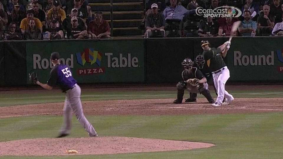 Gimenez's RBI single