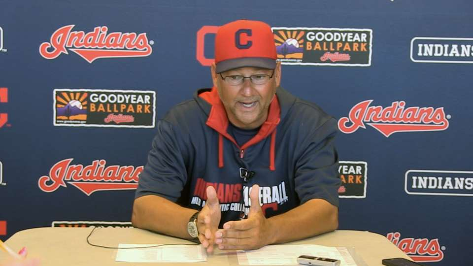 Indians option reliever Price