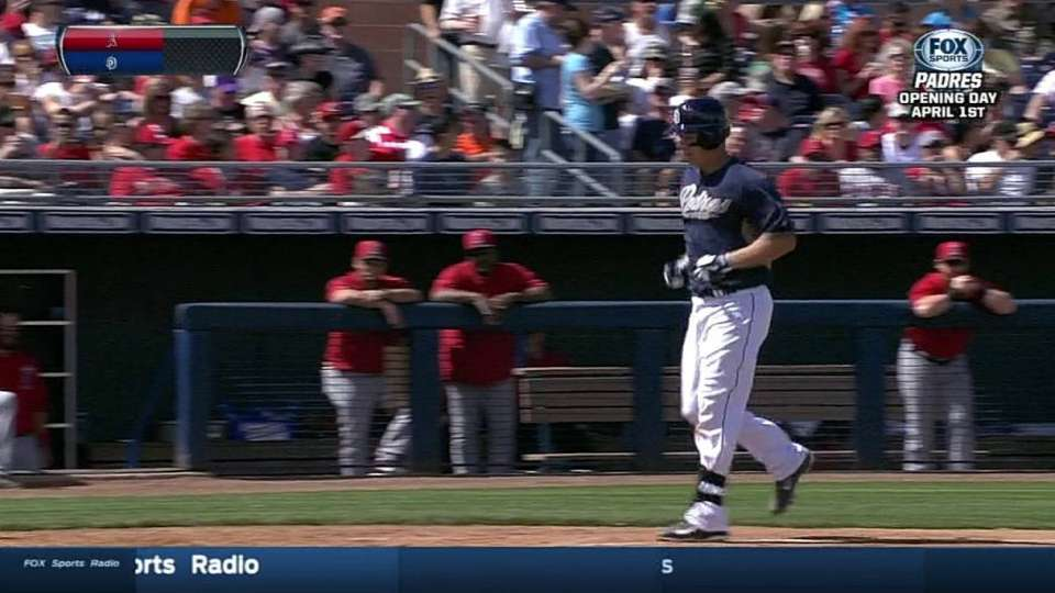 Hundley's solo home run