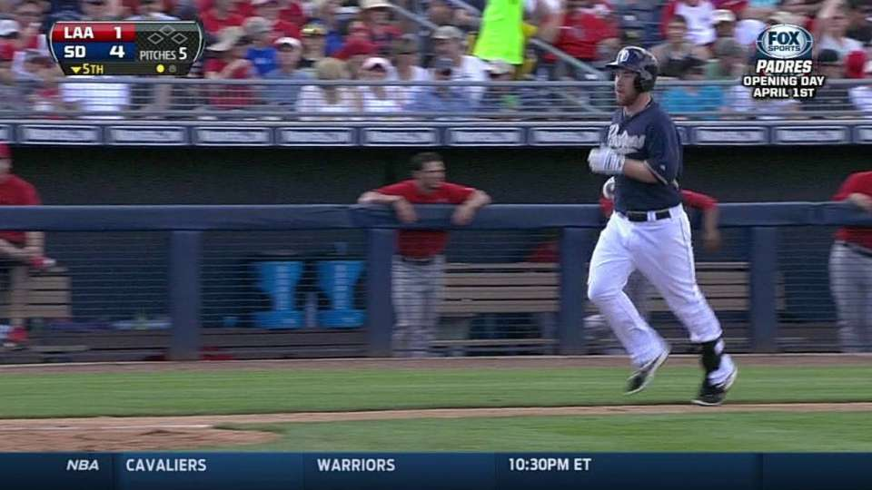 Gyorko's solo home run