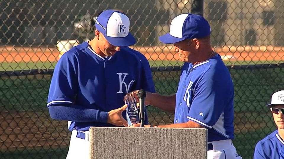 Royals' Minor League awards
