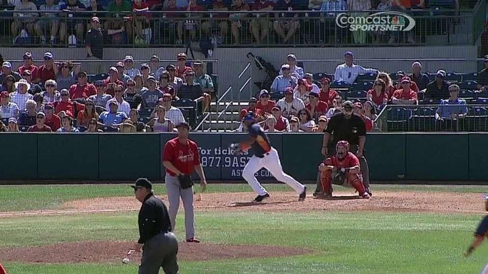 Singleton's RBI triple