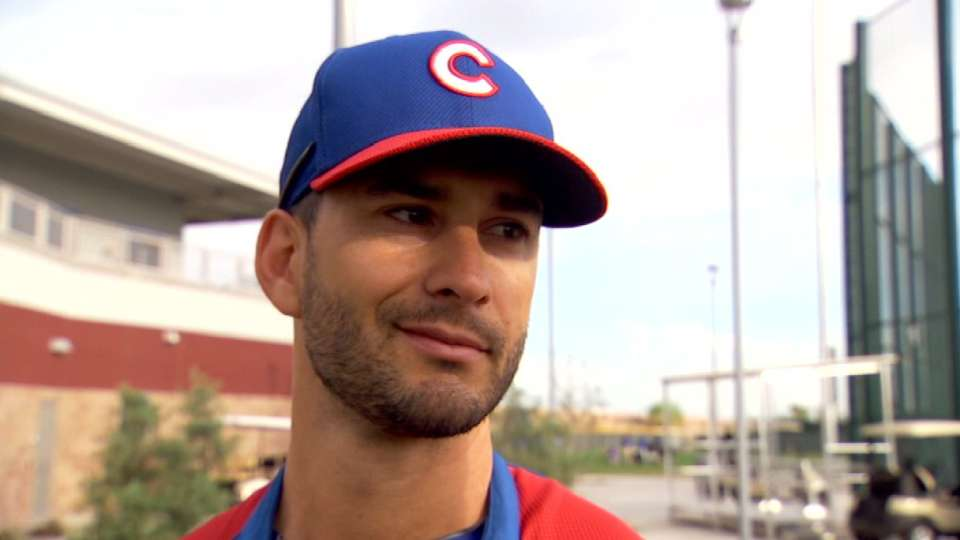 Ruggiano on joining the Cubs