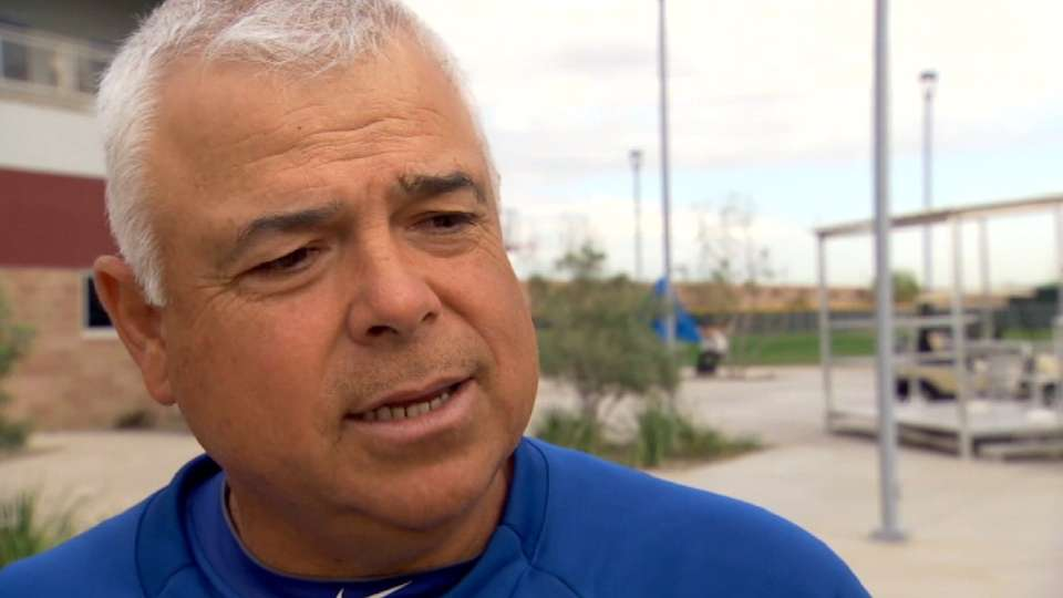 Renteria on first spring camp