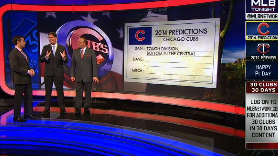 Predictions for the 2014 Cubs