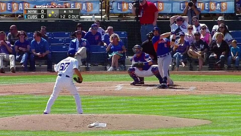 Wright's two-run double