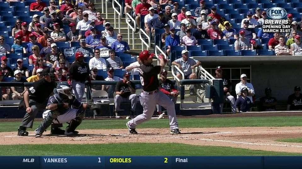 Heisey's two-run home run