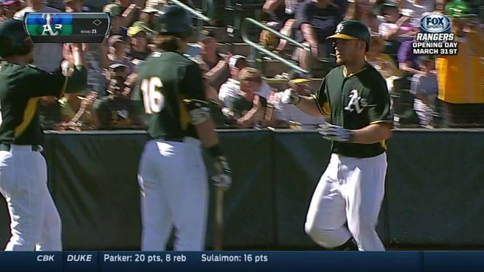 Moss gets his second homer