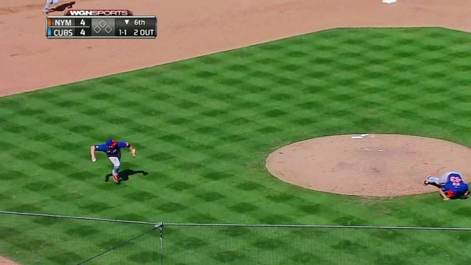 Wright's barehanded grab