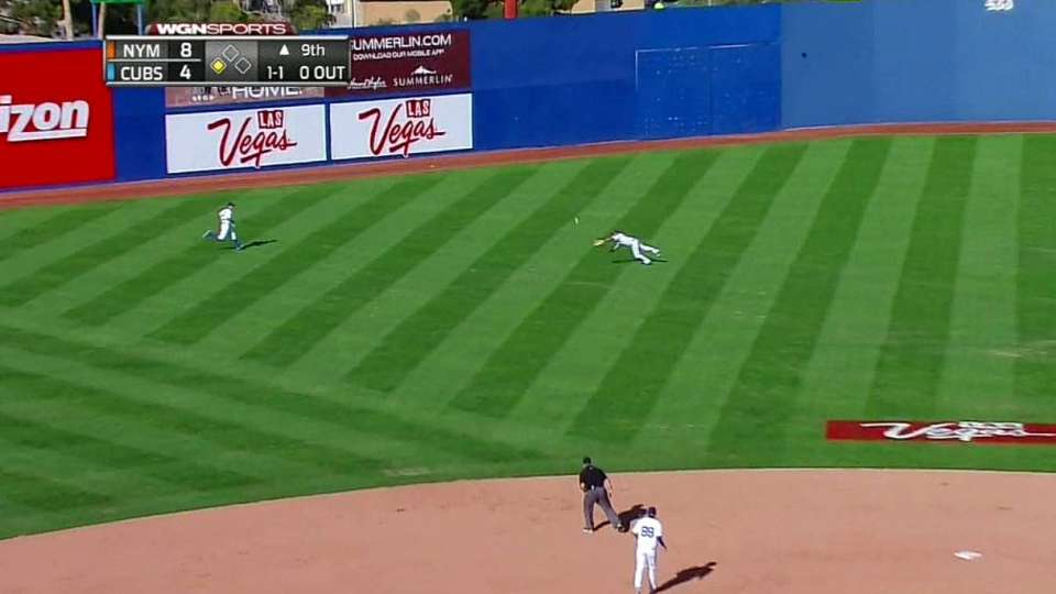 DeVoss' diving catch
