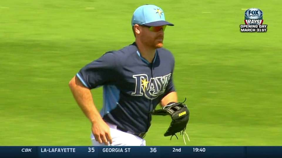 Forsythe's great diving catch