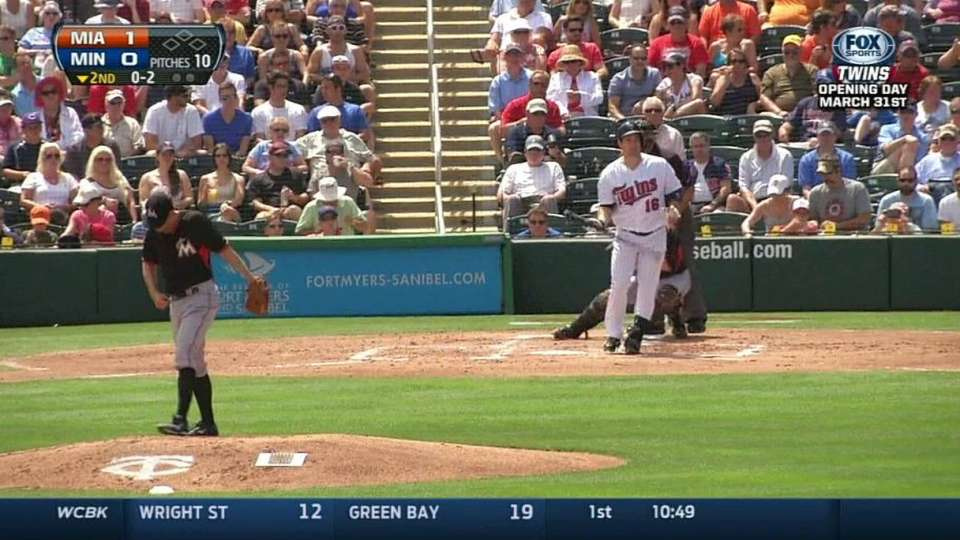 Slowey strikes out Willingham