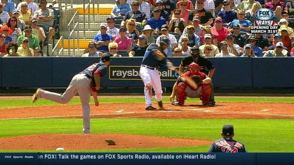 Loney's two-run double