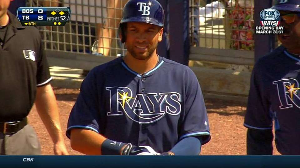 Loney's RBI single scores two