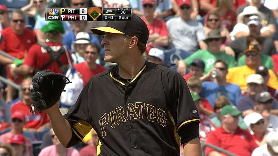 Wilk's great start for Pirates