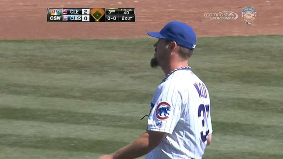 Wood's eight strikeouts