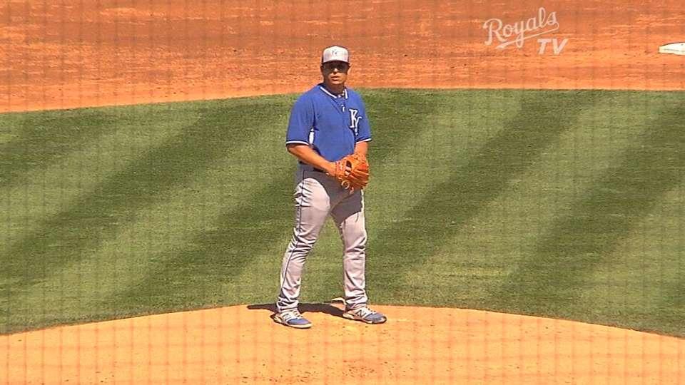 Vargas, Yost on win vs. Padres