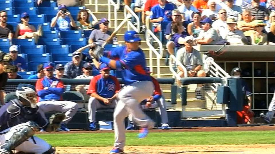 Baez, Bryant on Spring Training