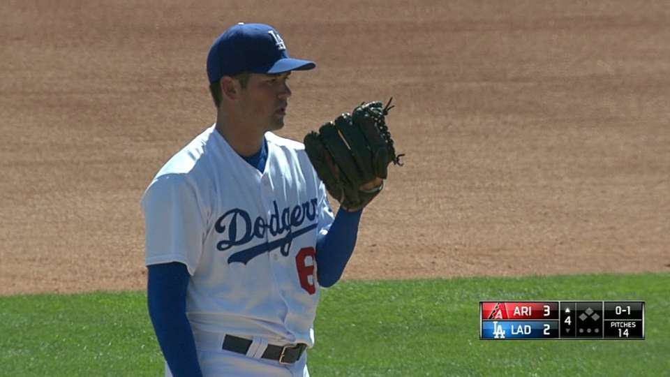 Lee's four strikeouts