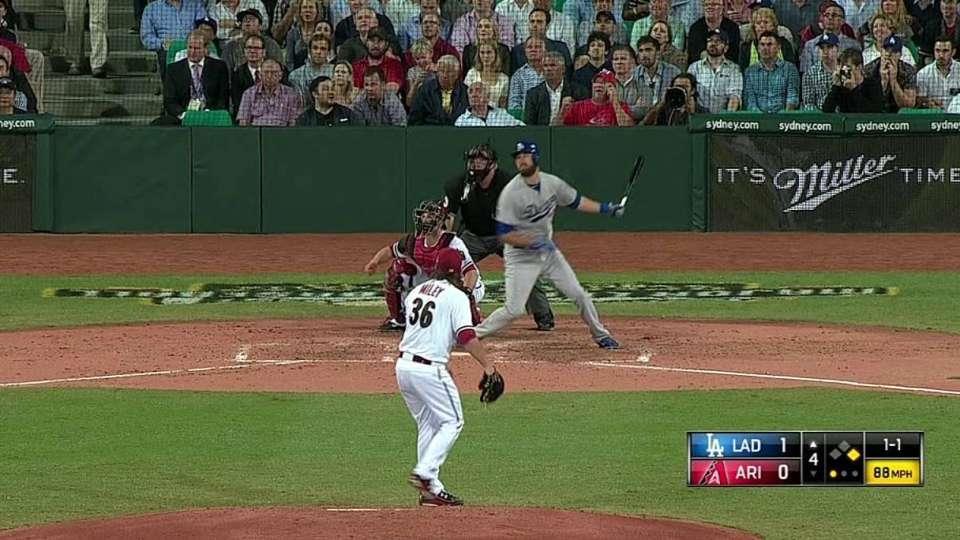 Van Slyke launches two-run homer