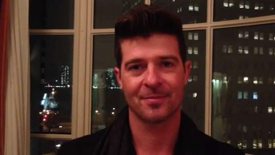 Thicke has a message for fans