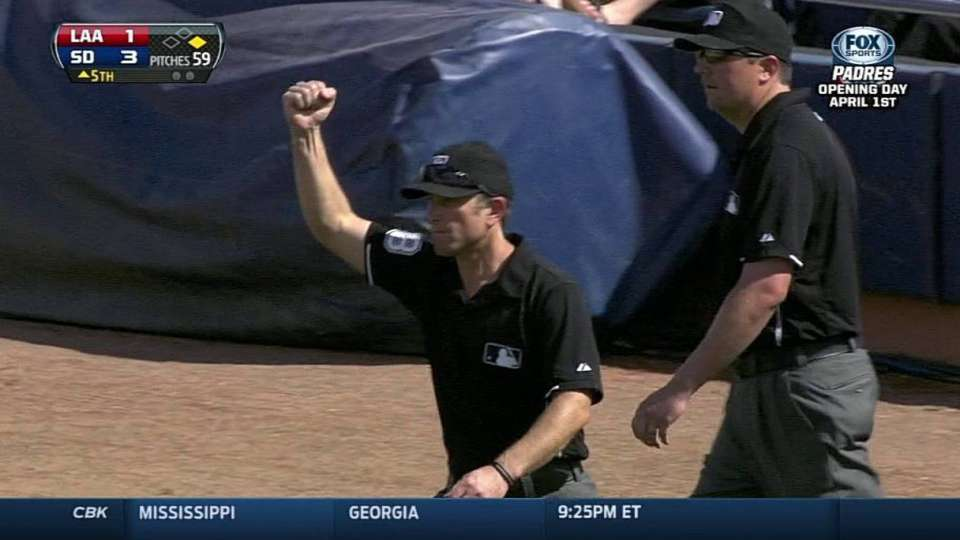 Bunt reviewed, then overturned