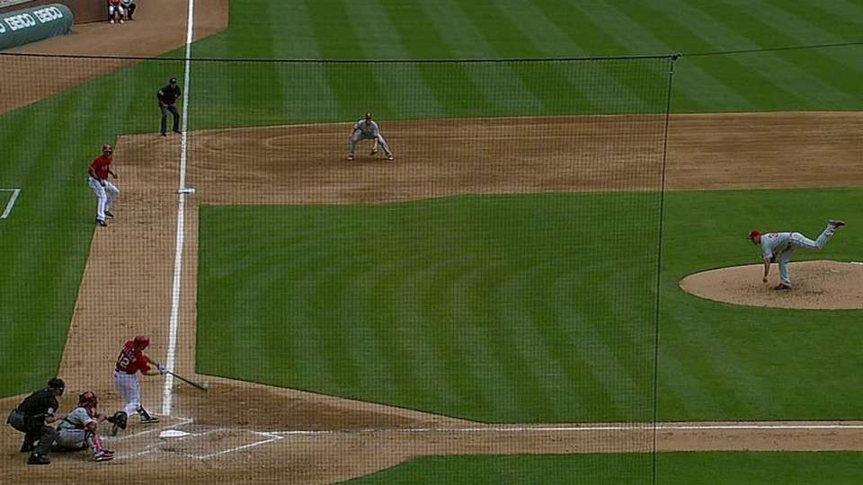Wilson's bases-clearing double