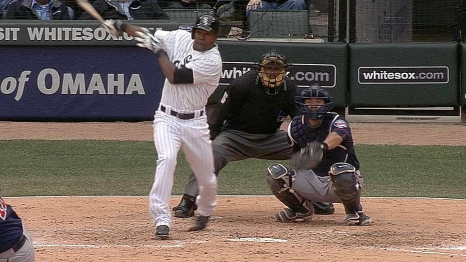 De Aza's two-homer game
