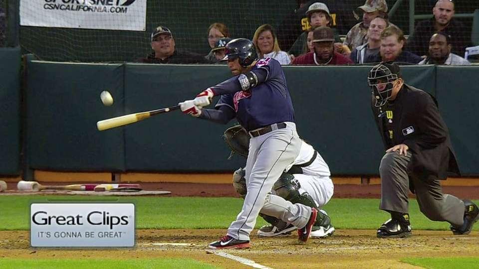 Aviles' two-run homer