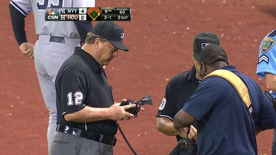 Umpires review to get the count