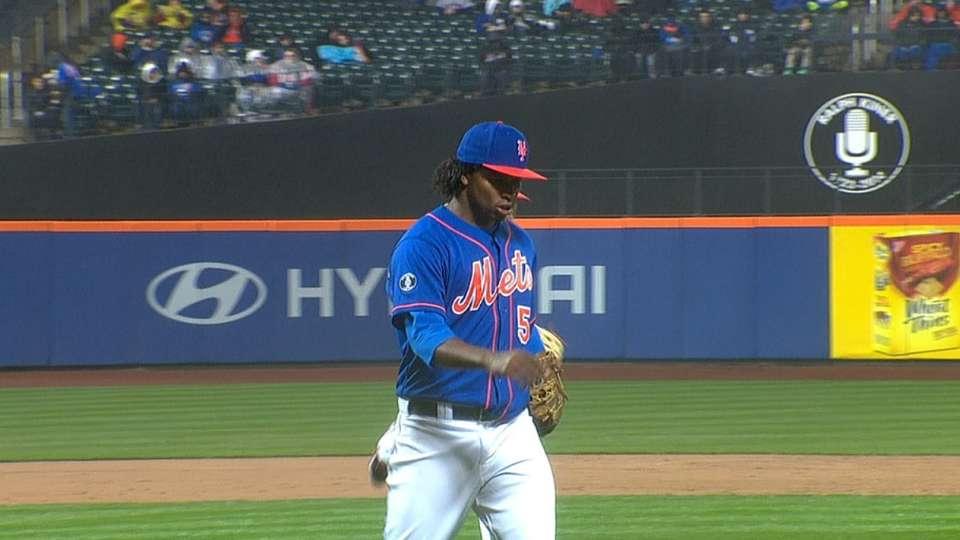 Mejia strikes out eight