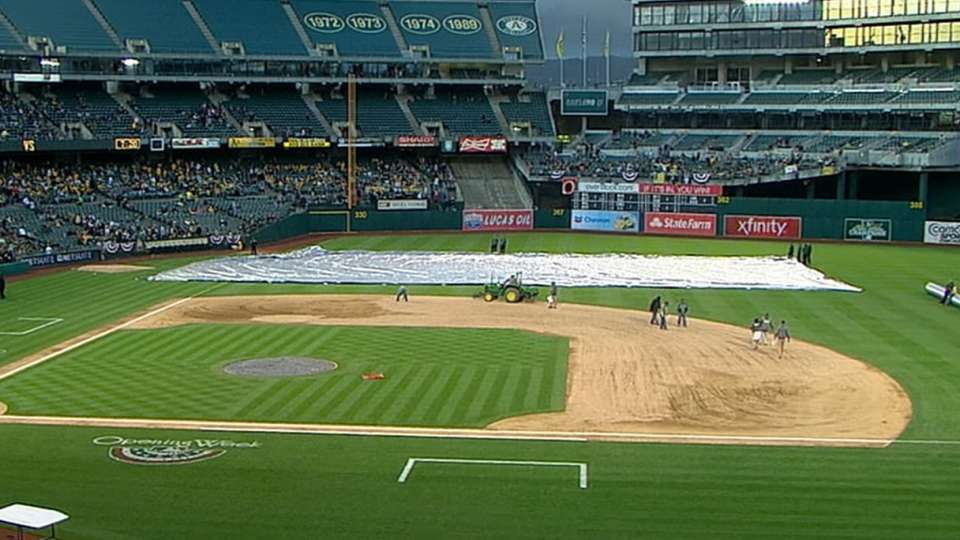 Mariners-A's game postponed