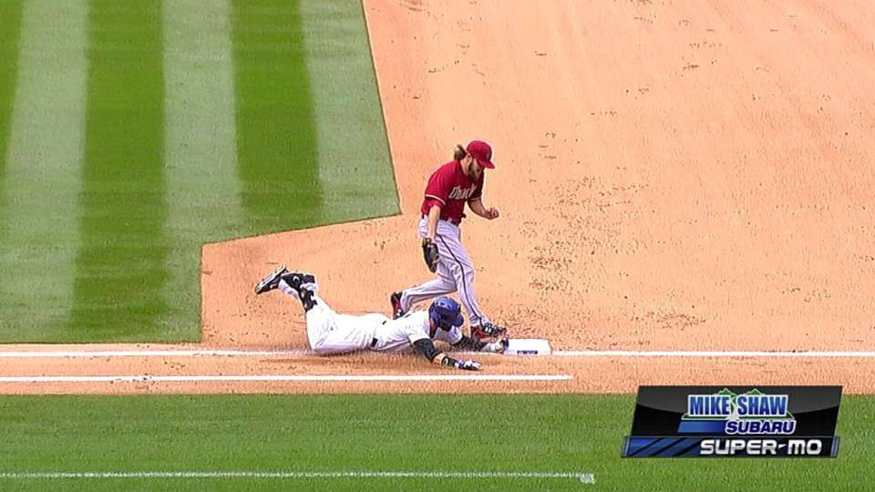 Rockies challenge play at first