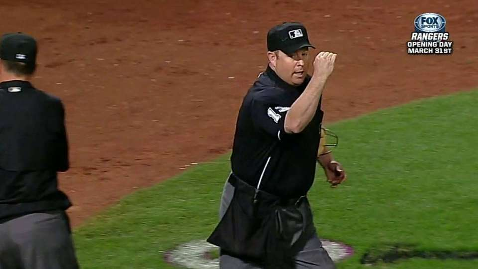 Umpires review, call stands