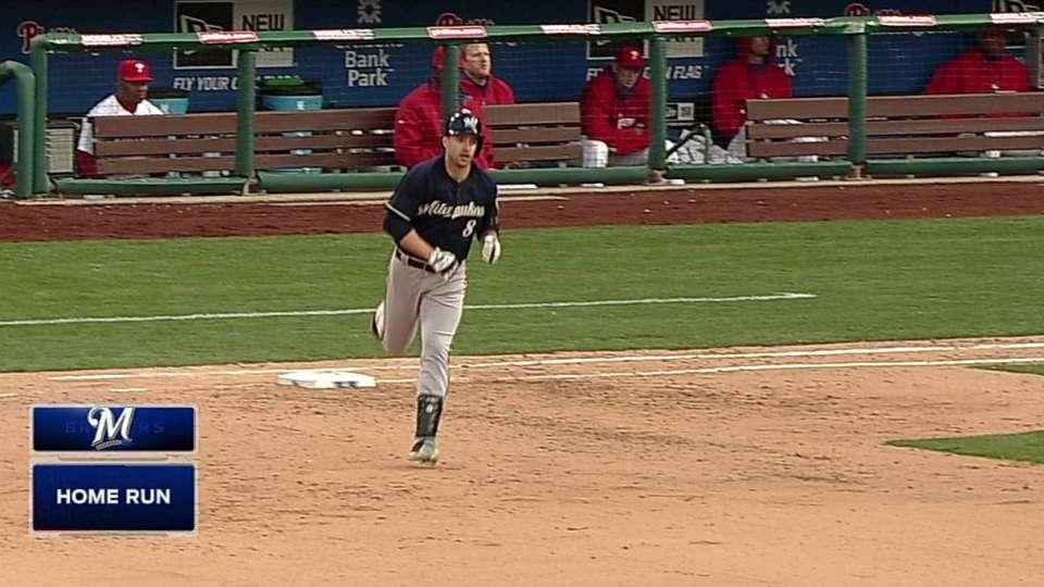 Braun's third home run