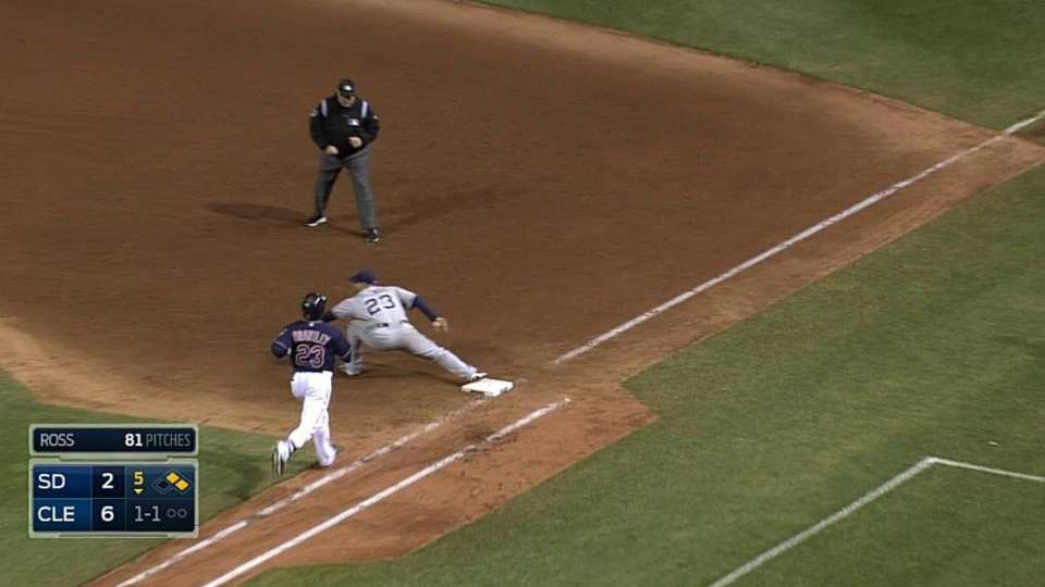 Padres turn 1-6-3 double play