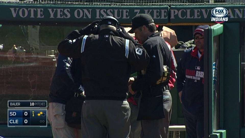 Francona challenges, call stands