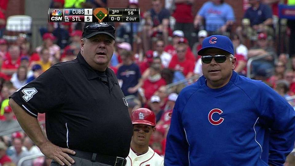 Cubs challenge play