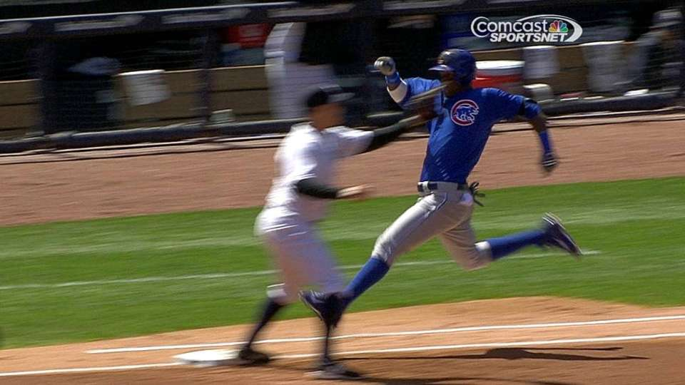 Cubs challenge out call
