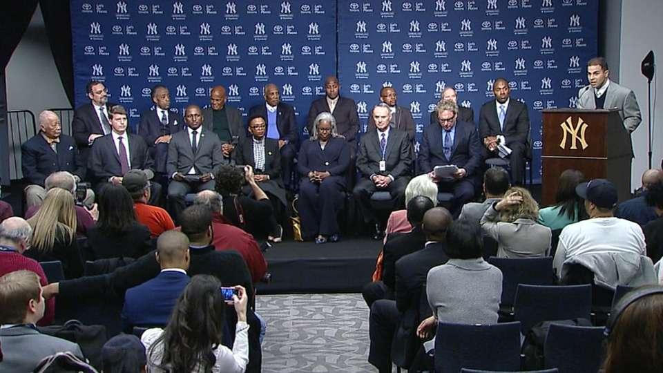 Yankees honor Nelson Mandela