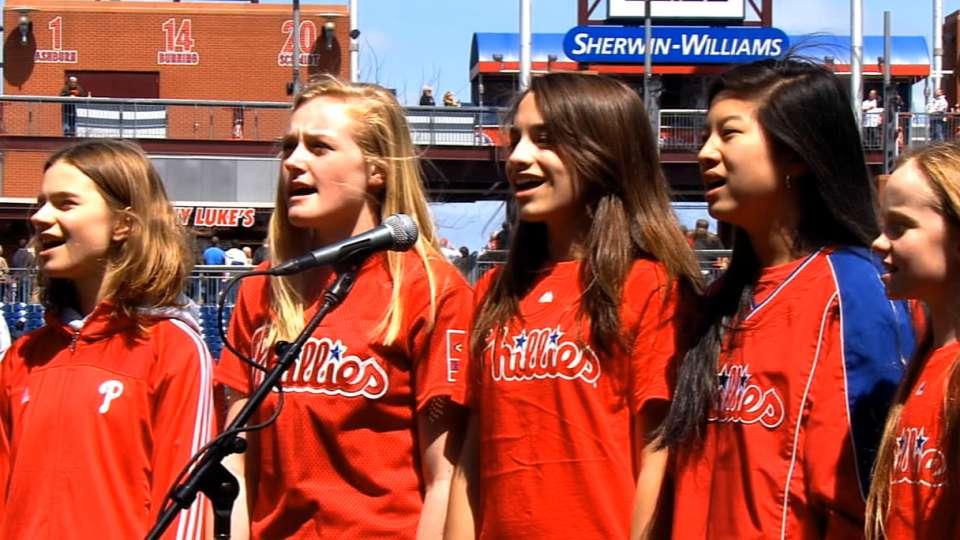 Phillies: National anthem