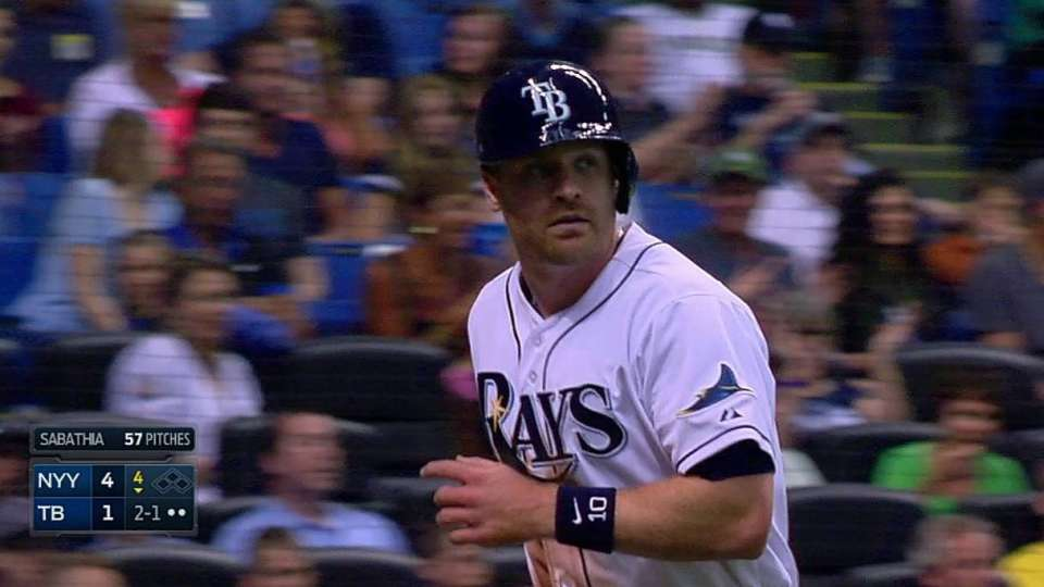 Forsythe gets Rays on the board