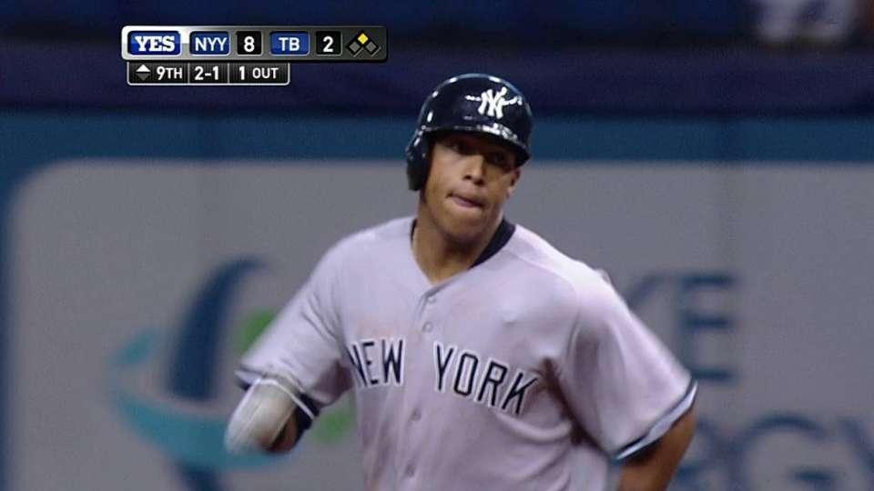 Solarte's first MLB homer